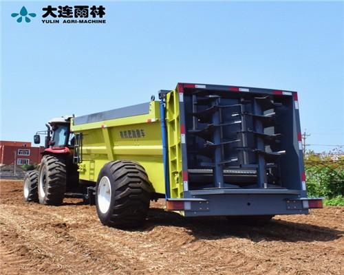 工厂货源批发大型农用撒肥机 拖拉机带的扬粪机 湿粪抛粪车