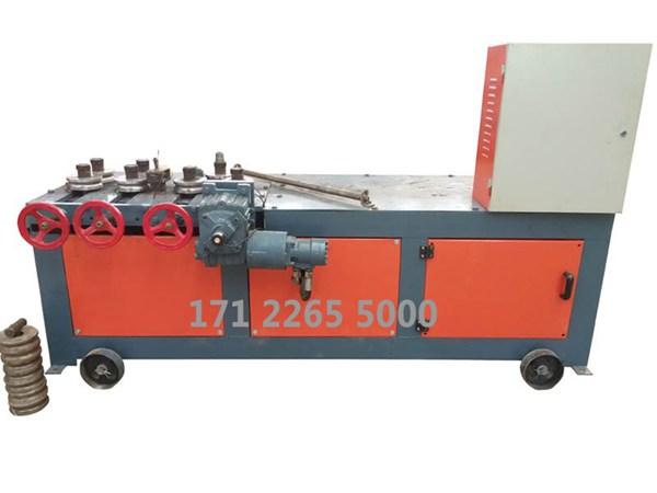 厂家直销50型钢管除锈喷漆一体机除锈机