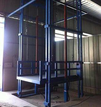 焦作市 解放区启运直销升降货梯 导轨式货梯 简易货梯