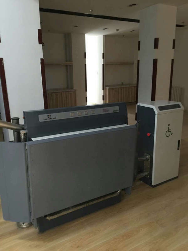 宜春市 袁州区启运直销斜挂式无障碍升降平台  轮椅电梯