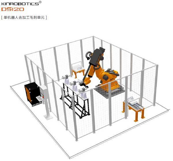 大连誉洋DS120智能去加工毛刺机器人
