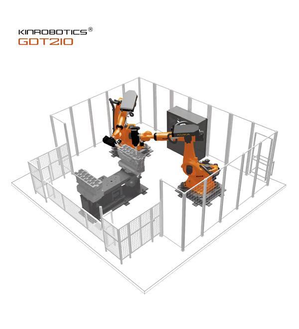 大连誉洋GDT210智能打磨缸体/缸盖机器人