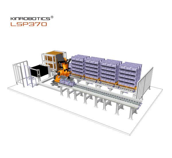 LSP370机器人自动上下料包装系统