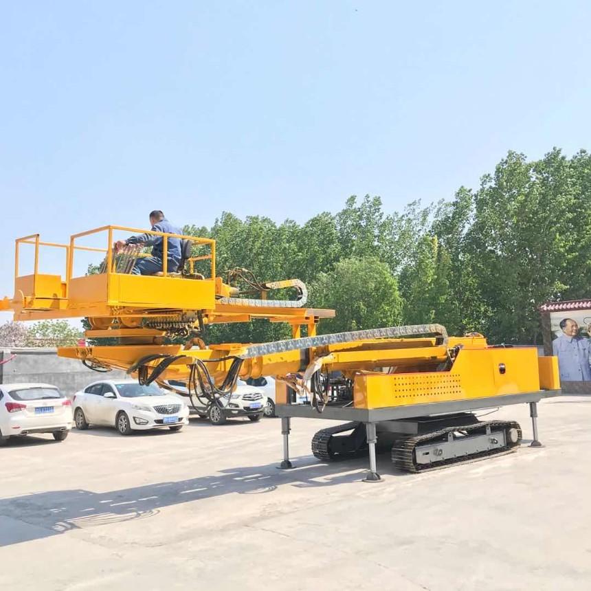 钢制锚杆锚索钻机 护坡钻机 高空建筑护坡钻机