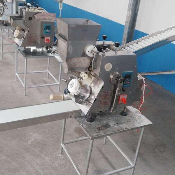 创业机械商用包饺子机 仿手工全自动水饺机 蒸饺锅贴机