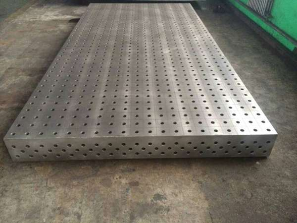 铸铁平板、焊接三维柔性平板、泽宏厂家直销