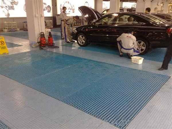 洗车店格栅