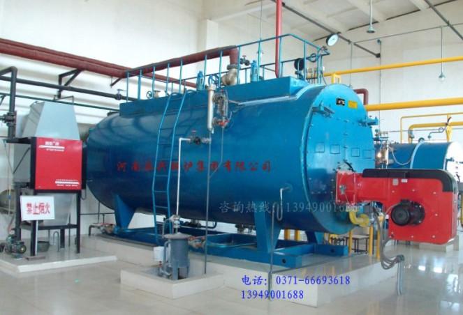太原4吨燃气热水锅炉