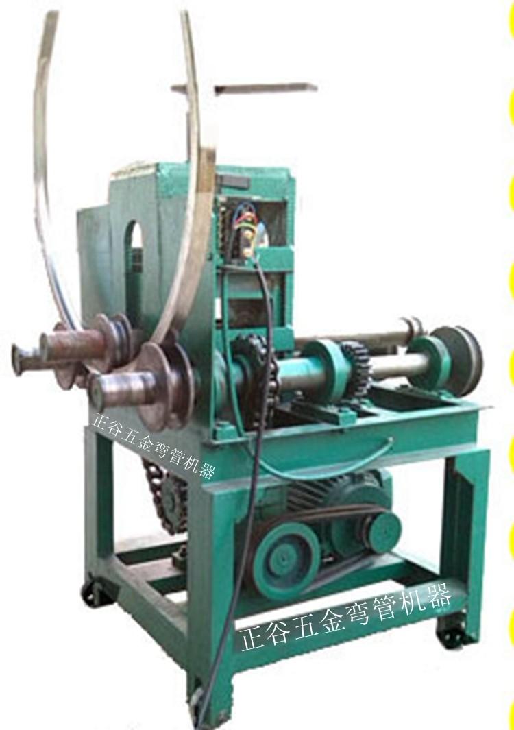 150型方管弯弧机 电动弯管器 滚方管视频 平弯器