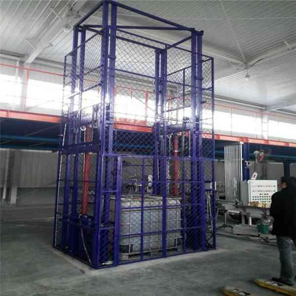 河北导轨式升降货梯.液压升降平台.货物装卸升降机
