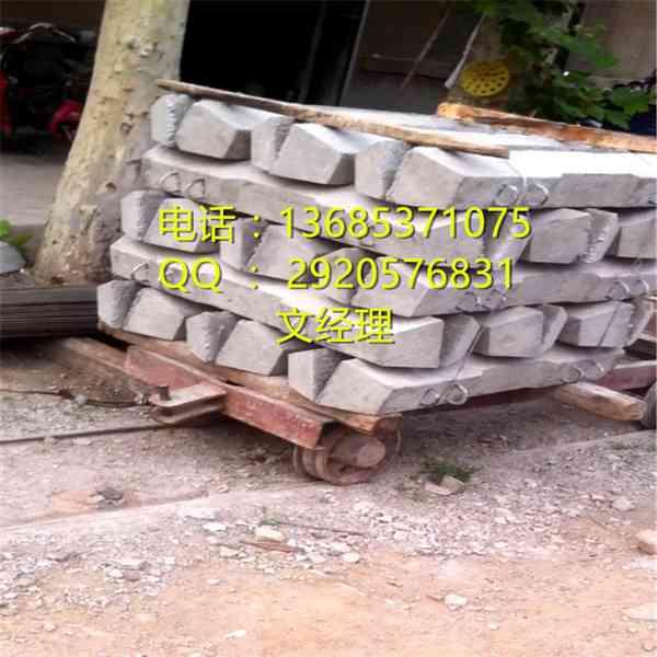 水泥轨枕钢轨米重