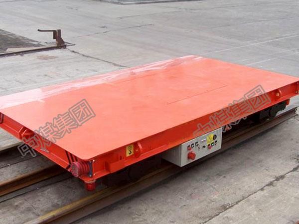 中煤MPC2-6厂家直供平板车1-30吨电动拖线地爬车轨道板车
