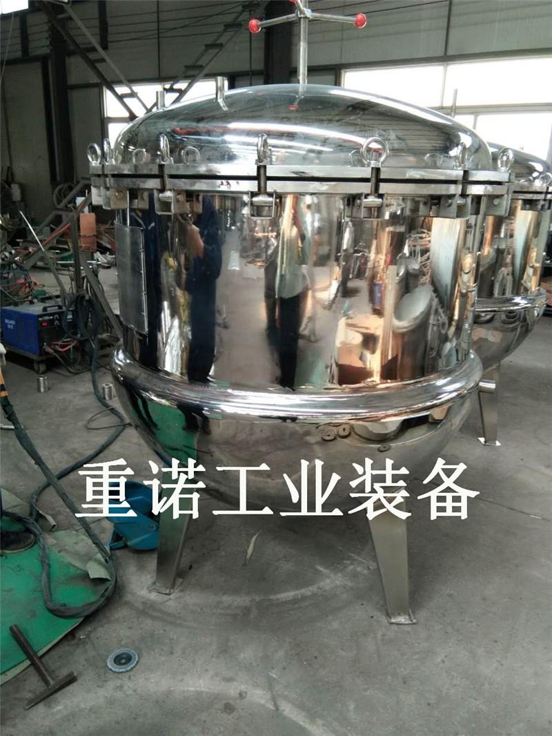 燃气可倾搅拌夹层锅_火锅料炒料机_大型夹层锅