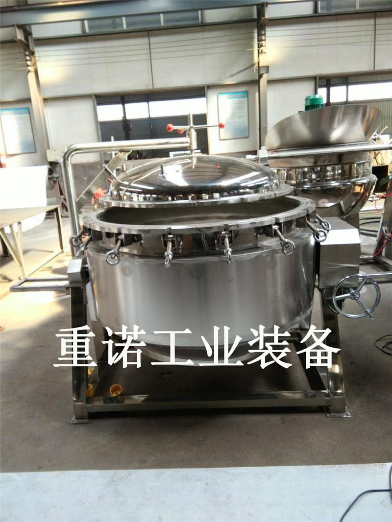供应夹层锅|天然气可翻转猪肉夹层锅|夹层锅封头