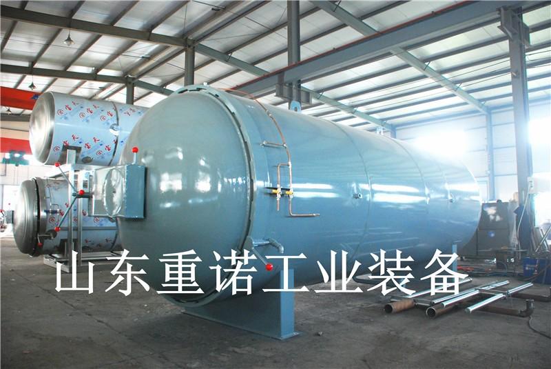 滚筒包胶硫化罐-硫化罐原理-电加热硫化罐的研制