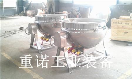可倾式炒锅-蒸汽夹层锅参数-菏泽夹层锅