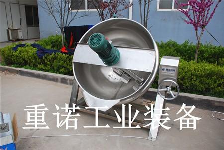 不锈钢夹层锅_固定式夹层锅结构设计_可倾式炒锅