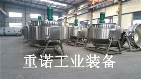电加热不锈钢夹层锅-不锈钢夹层锅-固定式夹层锅结构设计