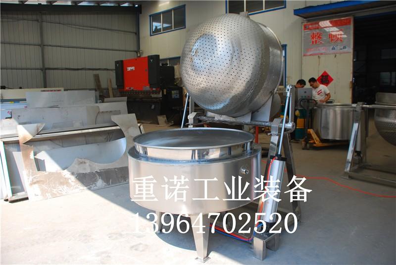 蒸汽夹层锅图片-带搅拌电加热夹层锅-电夹层锅