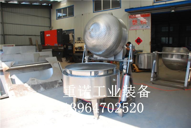 带搅拌电加热夹层锅-电夹层锅-燃气夹层锅工作原理
