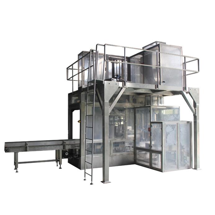 上海厂家直销大袋粉末全自动包装生产线粉体、颗粒