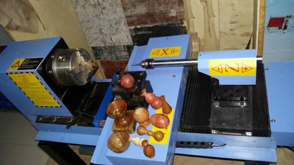 自动做珠子/葫芦/碗/杯子小把件机械木珠机数控佛珠机