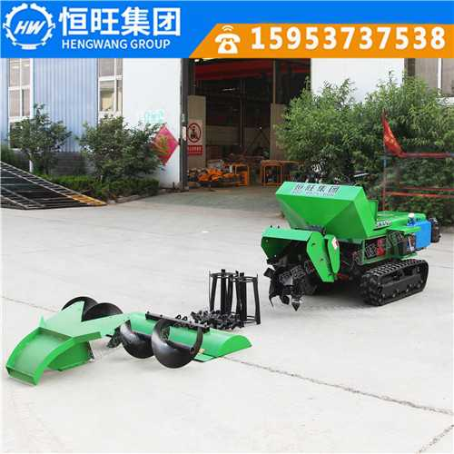 机器替代人工恒旺小型旋耕机开沟机