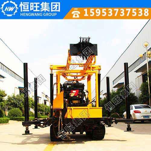 液压水井钻机价格 230米打井机 拖车轮式钻井机 水井钻规格型号
