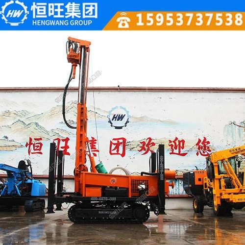 恒旺230米液压水井钻机厂家直销履带式液压钻机