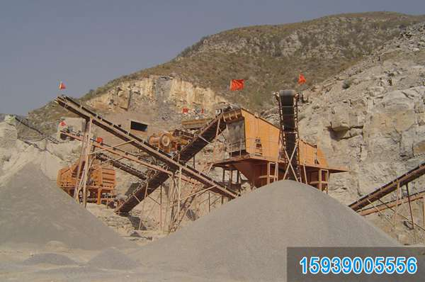 宁夏碎石生产线/石料破碎设备/石子机械