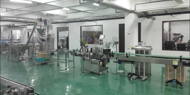 消防粉灌装生产线全新上线,郑州星火新品