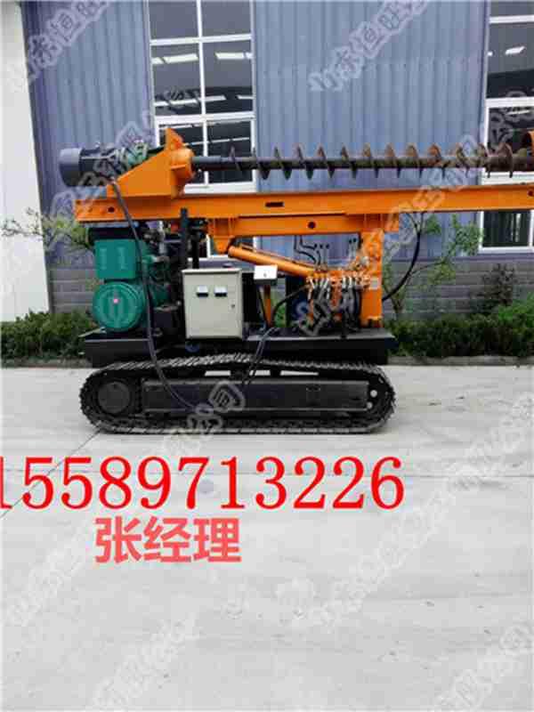 专业生产打桩机电动打桩机价格挖机打桩机基础打桩机厂家