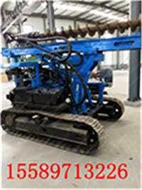 专业生产履带打桩机基础桩打桩机建筑小型打桩机厂家