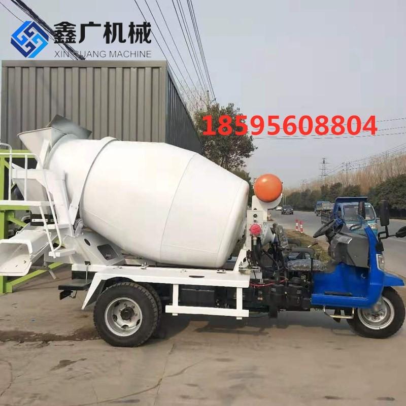 郑州鑫广2立方水泥搅拌罐车