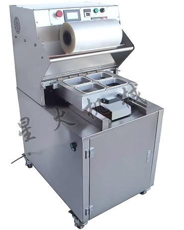 烤鸭外抽式真空包装机,专业包装各种熟制品